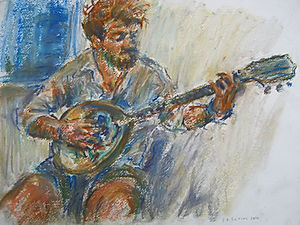 Irish Bouzouki Player