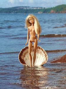 Botticelli's Barbie Doll (after Sandro Botticelli)