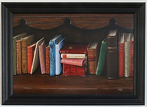 The Old Oak Bookcase