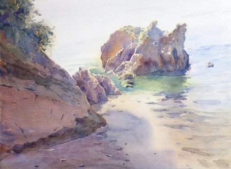 Discovering Watercolour: Workshop with David Webb
