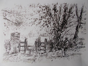 The Lime Tree By The Gate, Cockington, Devon
