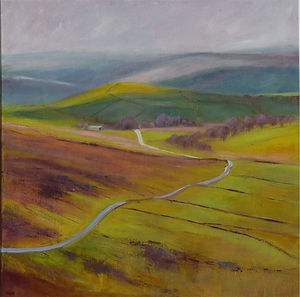The Winding Dartmoor Road