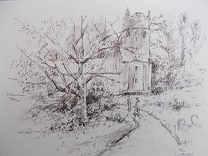 The Church at Cockington, Devon