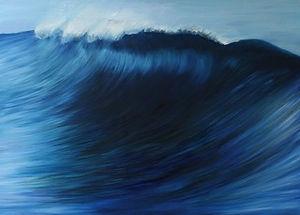 Cobalt Blue Wave
