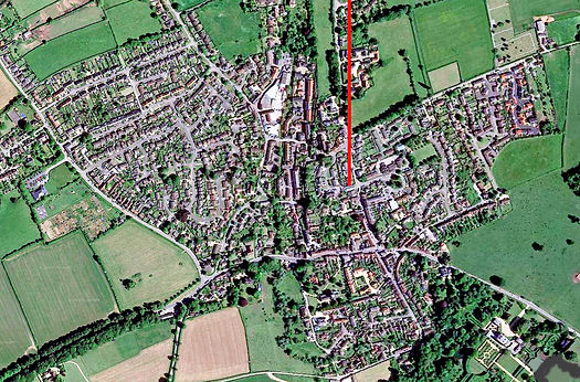 Milborne Port aerial view-.jpg