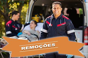 remoçoes, betelmed ambulância