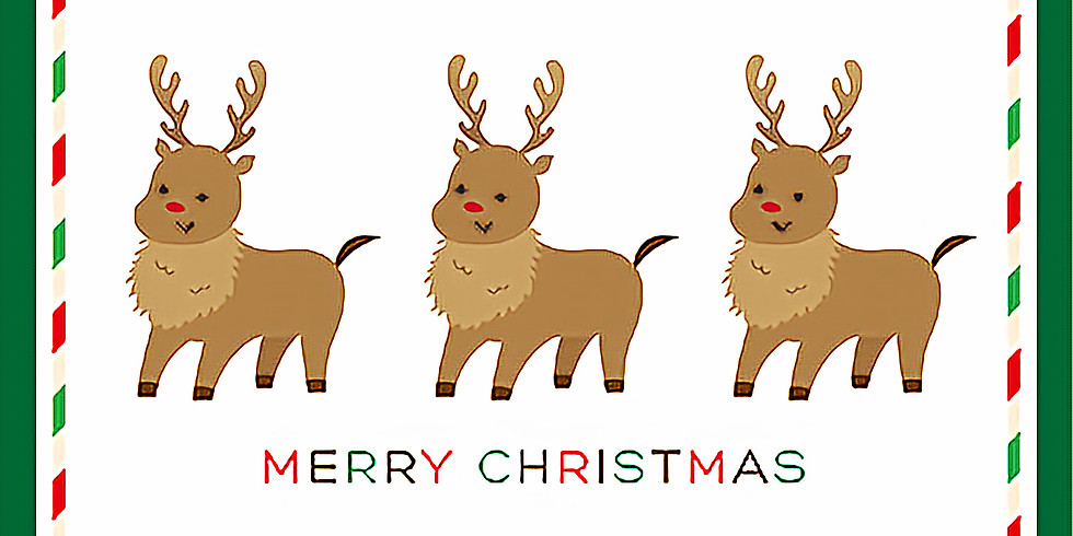 クリスマス製作~トナカイさん~