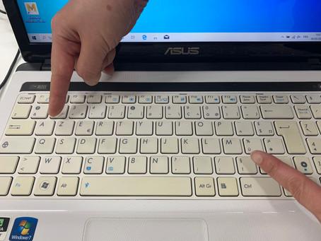 フランスのパソコン