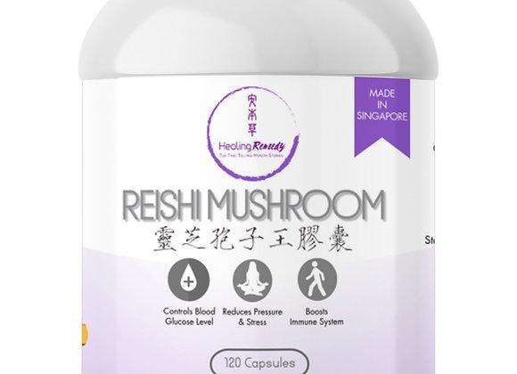 Reishi Mushroom Pills Enhance Immunity