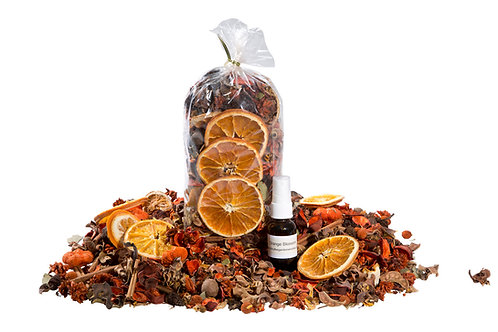 Orange Blossom Potpourri with Refresher Oil