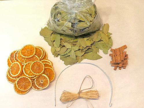 Orange Blossom Wreath Kit