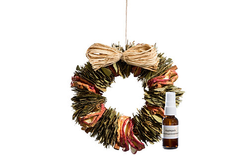 Applejack Wreath with Refresher Oil