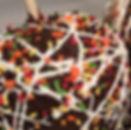 gourmet caramel chocolate apples