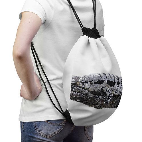 Blizzard Blue Tegu Drawstring Bag For Sale, Lizard, Tegu, Reptile,  Tegu World