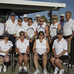 2013 Tennis Team Photos