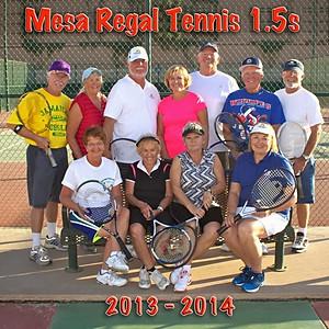 2013-14 1.5 Tennis Team