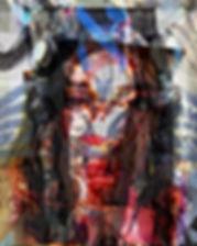 עֲזָאזֵל_33.9″ x 41.5″_[ from the serie
