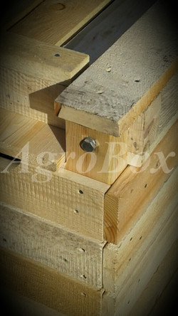 Болт деревянный контейнер