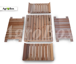 деревянный контейнер разборной