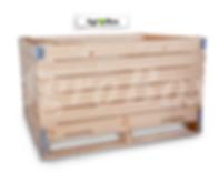 деревянный контейнер для яблок