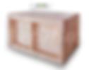 деревянный контейнер для овощей