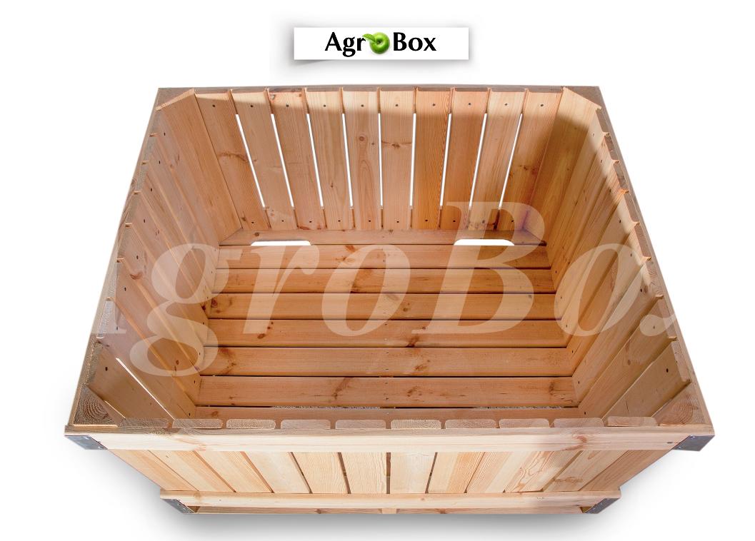 Деревянный контейнер 1200х1000х740мм