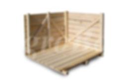 деревянный контейнер для картофеля