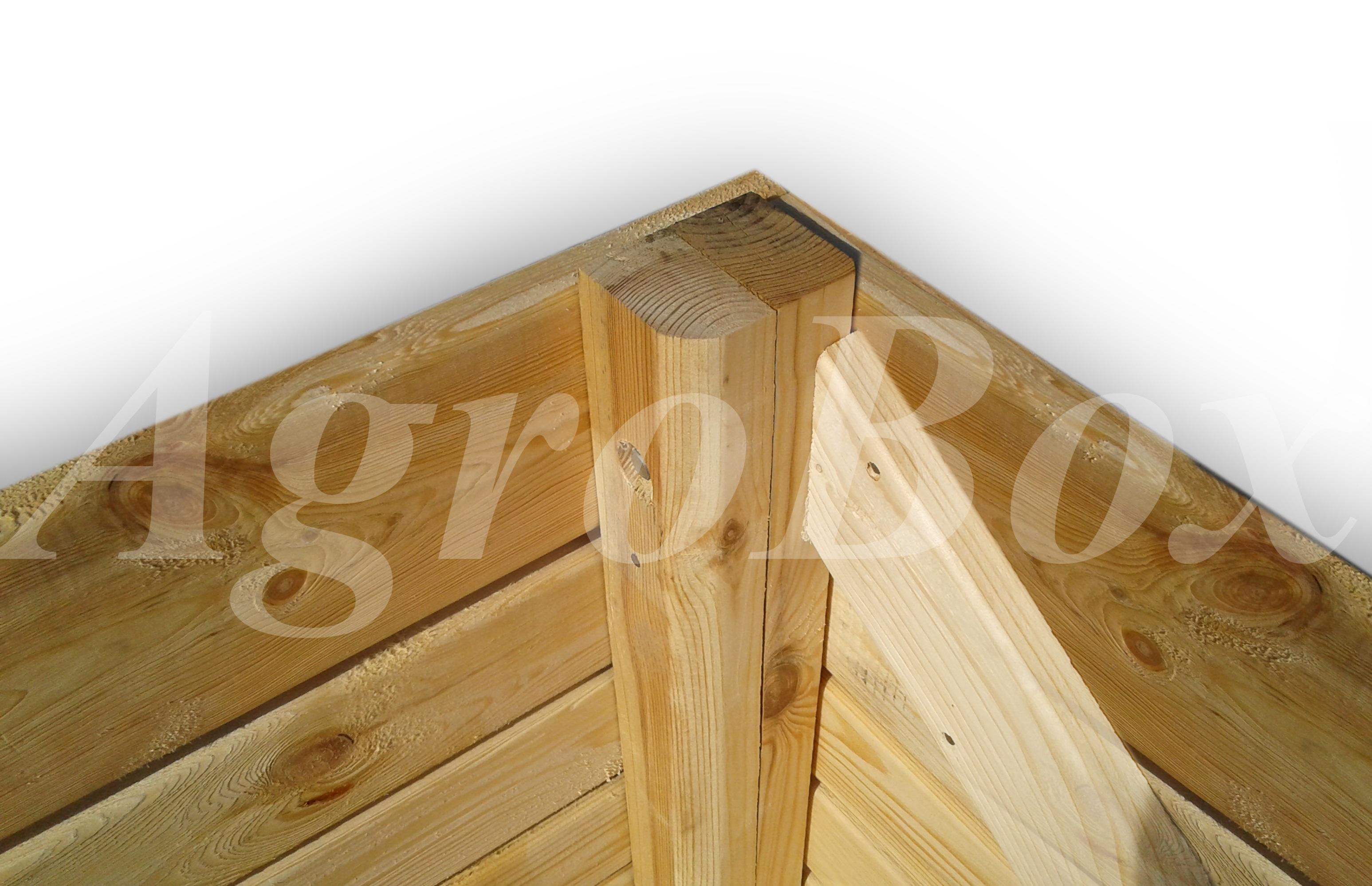 усиленный деревянный контейнер