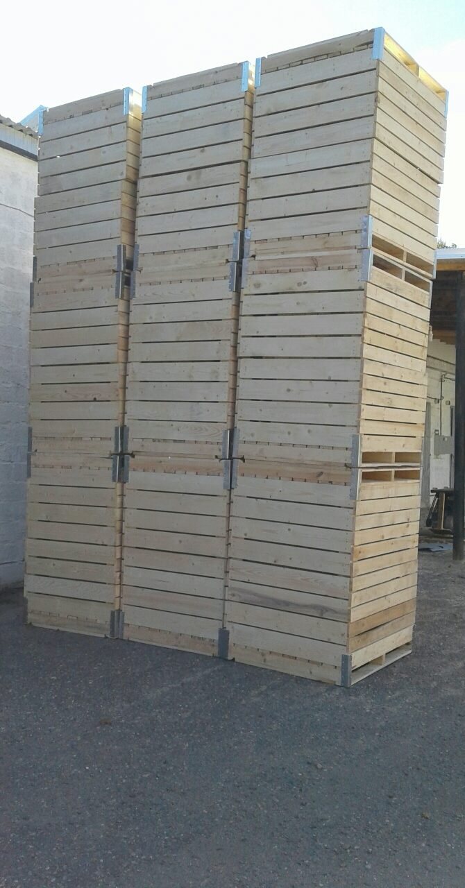 контейнер с уголками