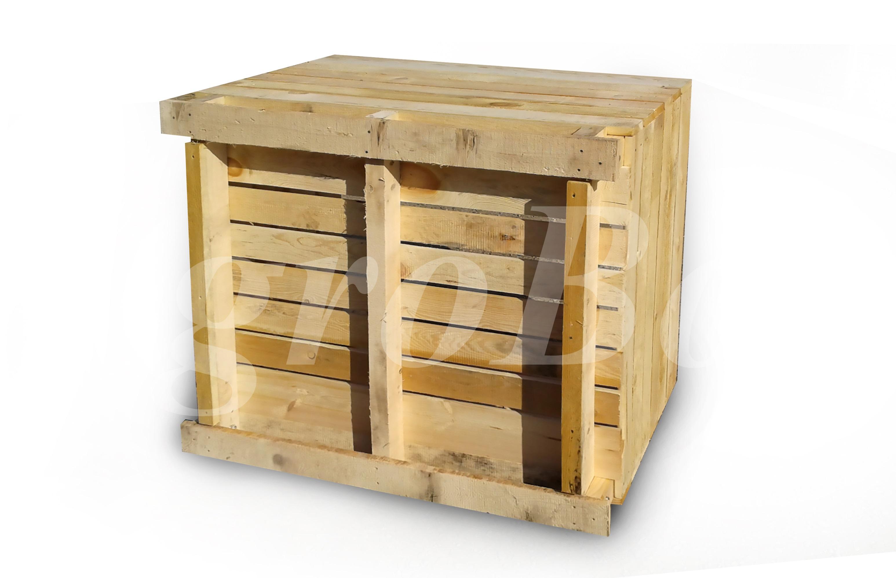 Деревянный ящик для яблок