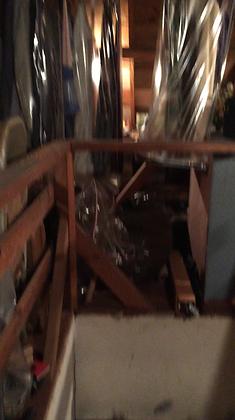 attic before