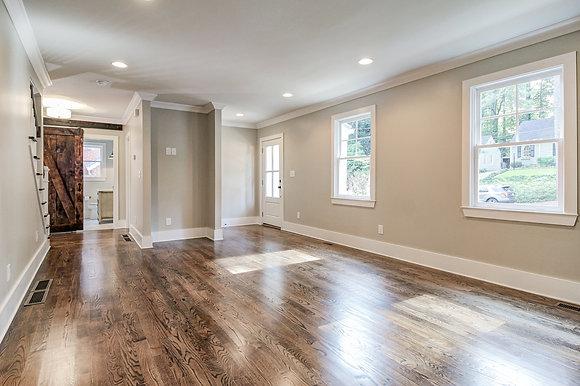 front door/living room after