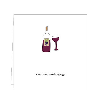 inspo 11 wine love language
