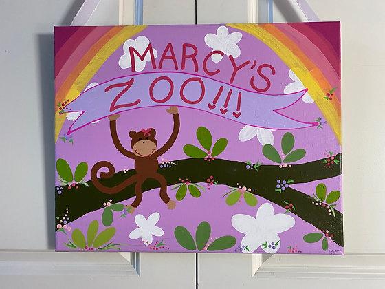 marcys zoo 16x20