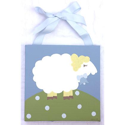 blue lamb