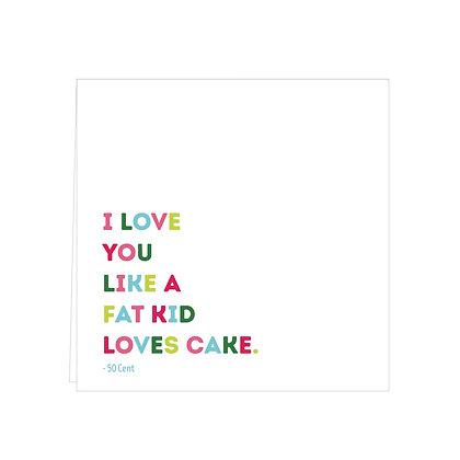 love you like cake