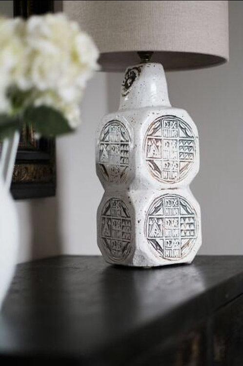Mid-Century Ceramic Lamp