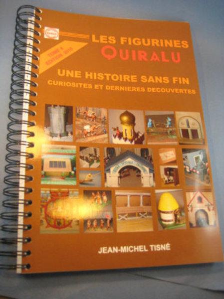 """""""Les Figurines Quiralu"""" tome 4 - Une histoire sans fin Reliure Anneau 22 x 33"""