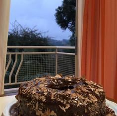 Uma das várias delicias preparadas aqui no hotel