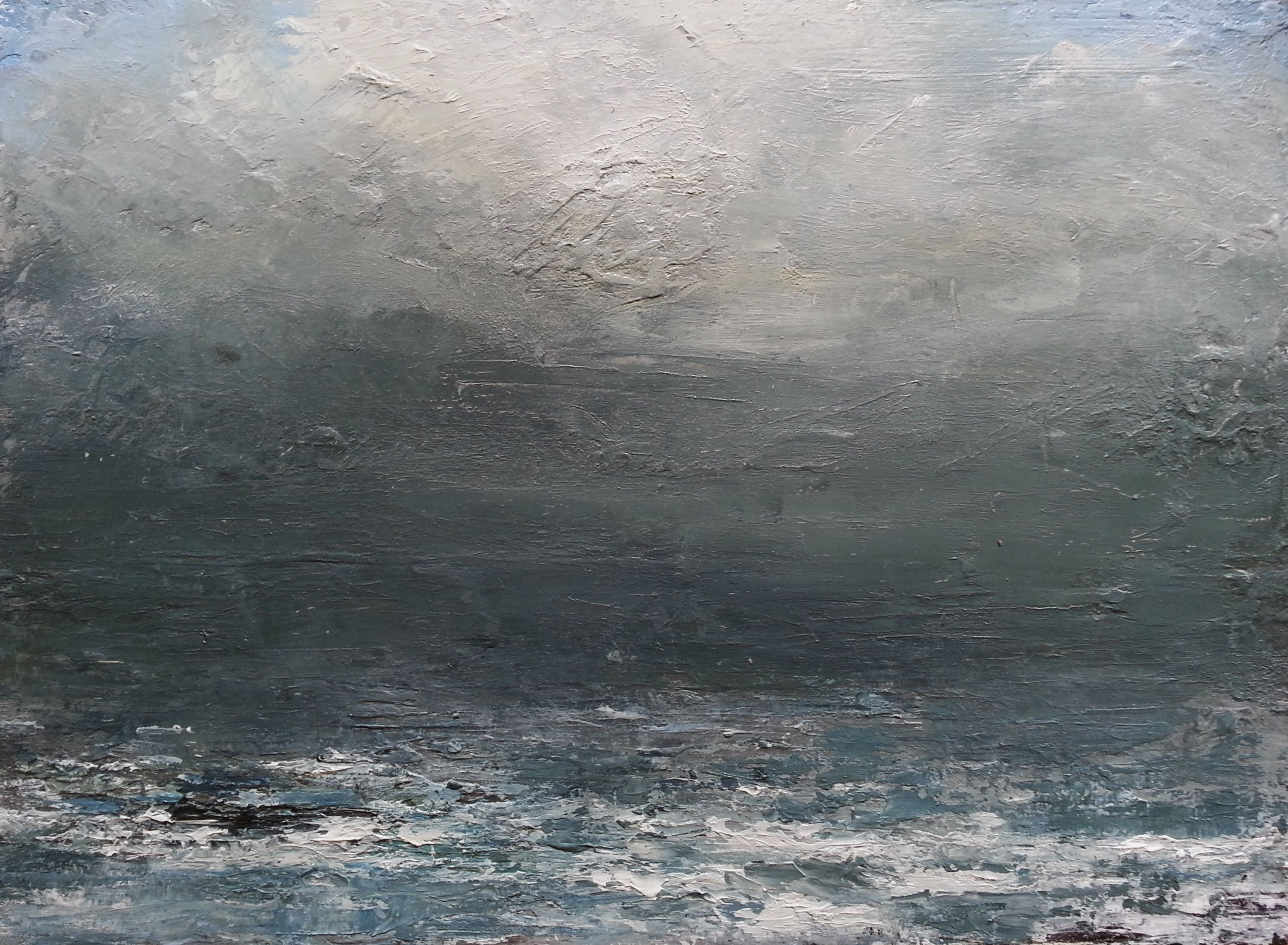Lost Horizon, Blue - Grey