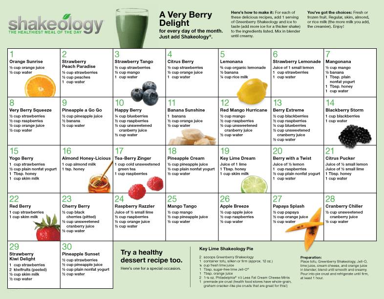 Greenberry Recipes