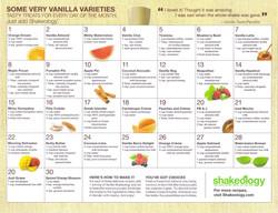 Vanilla Recipes