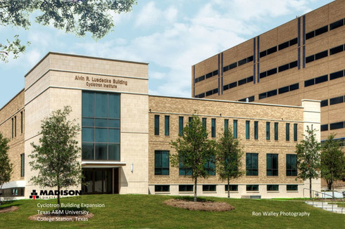 Cyclotron Building Expansion at Texas A&M University