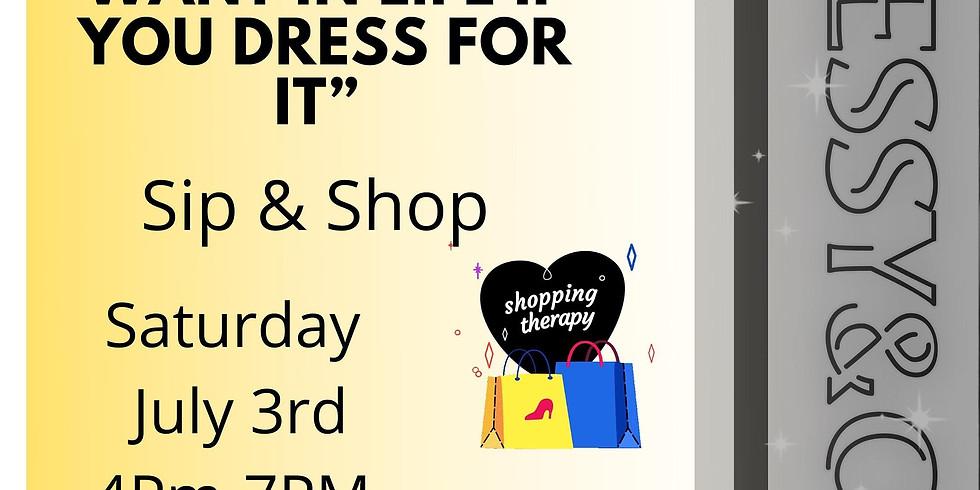 Join DESSY Sip-N-Shop