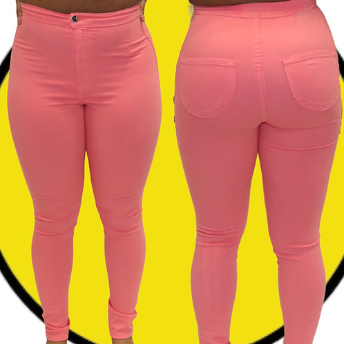 Pinky High Rise Jeans