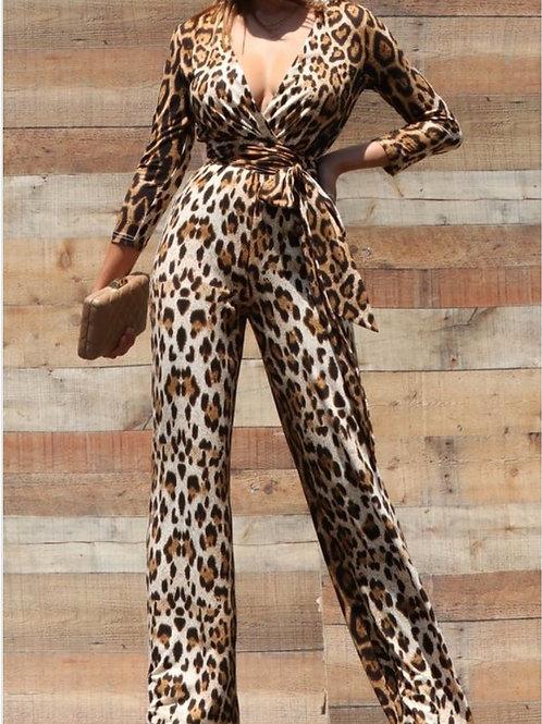 Living the fast Life Leopard jumpsuit