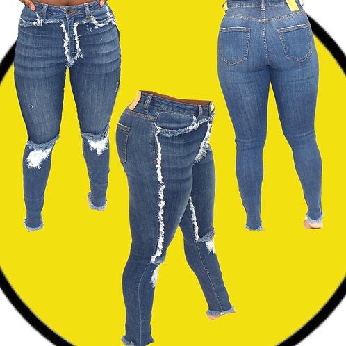 Jace Distressed Denim Jeans