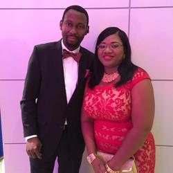 Seyi and wife