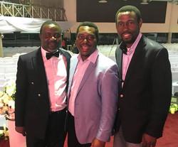 Sax Tee, Michael Chidubem and Seyi A