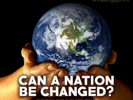 Can A Nation be Changed?